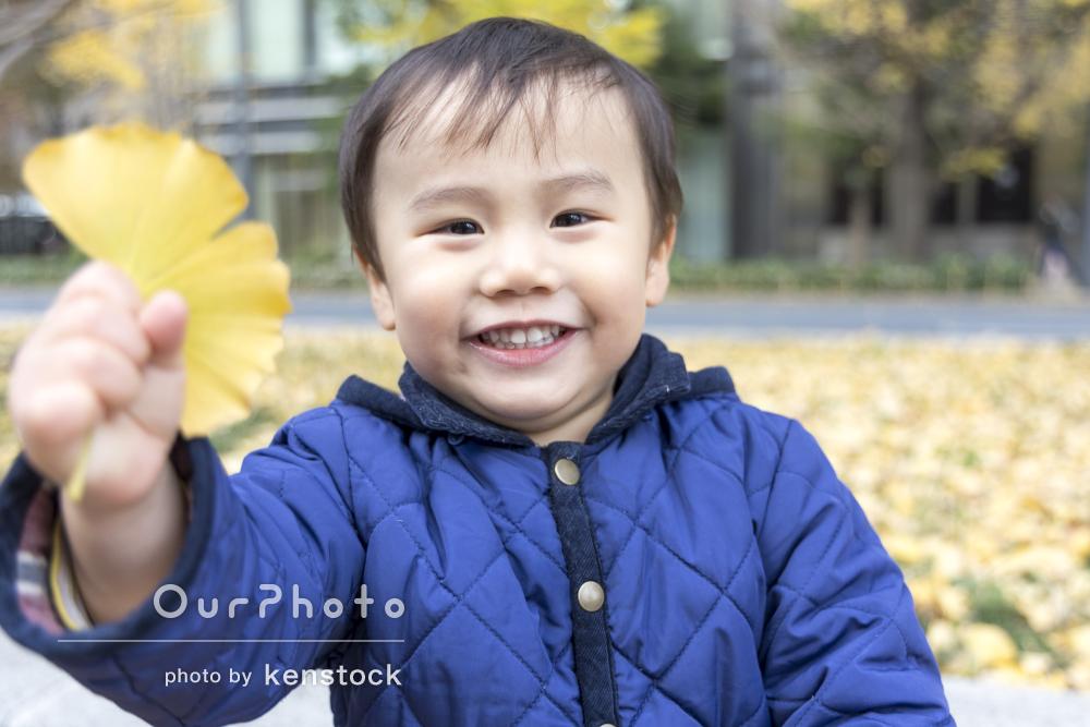 「穏やかに対応してくれて、とても感謝」年賀状用の家族写真の撮影
