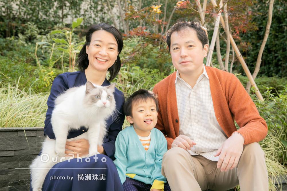 大切な家族のなにげない日常の一コマを美しく残す家族写真の撮影