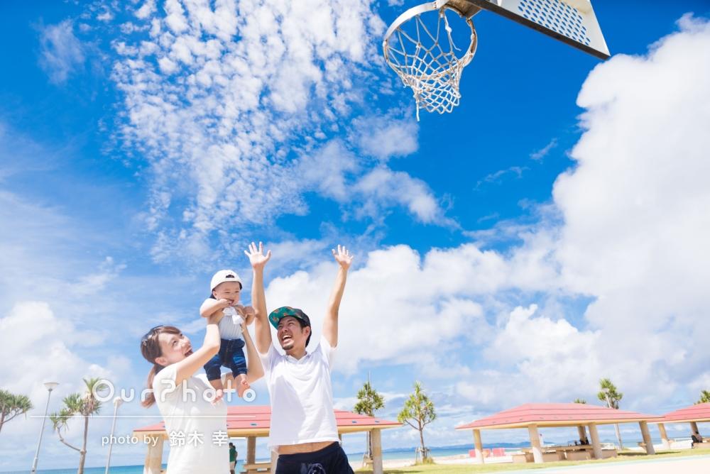 「写真はどれも素敵で、感動しました!」沖縄旅行の思い出に、家族写真の撮影