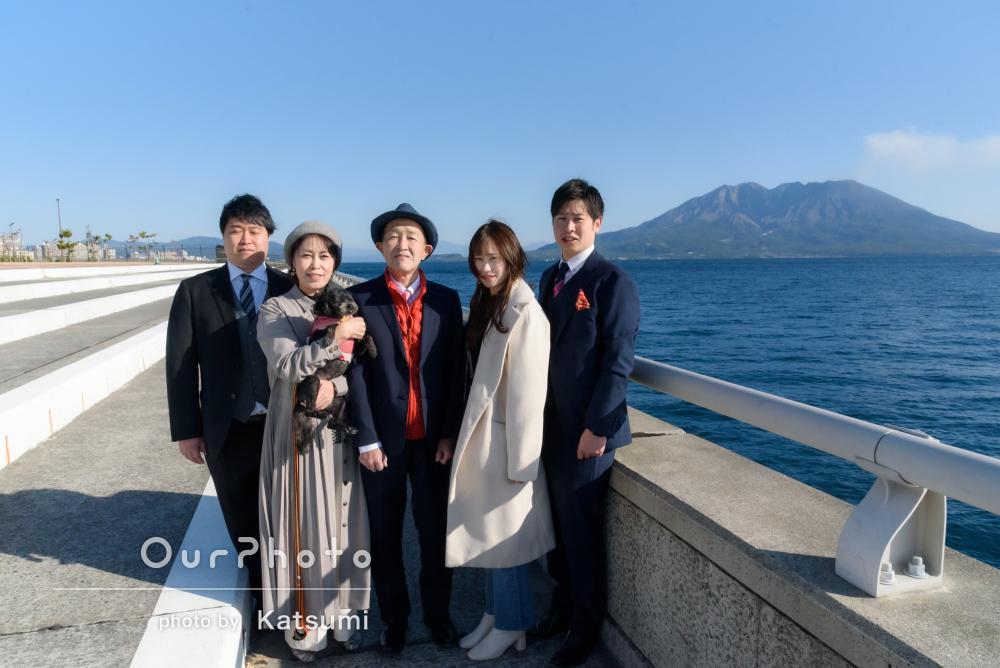 「家族一同とても感謝しています」お父様の還暦祝いに家族写真の撮影
