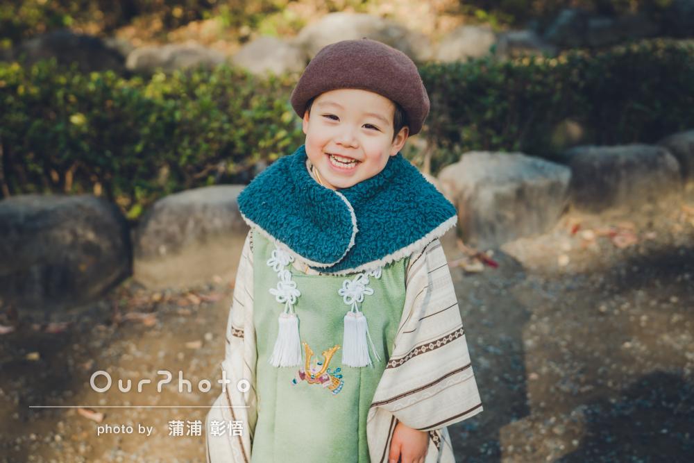 「子供のペースに合わせて撮影してくれました」和洋な七五三の撮影