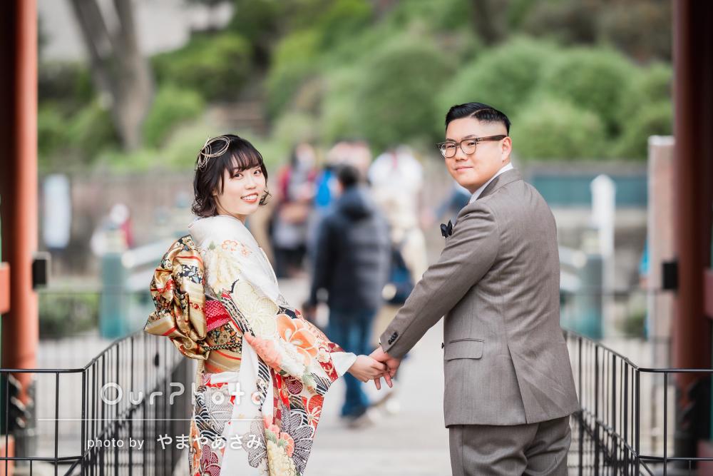 「とっても素敵な写真ばかりで大満足」なかよしカップルの成人式の後撮り