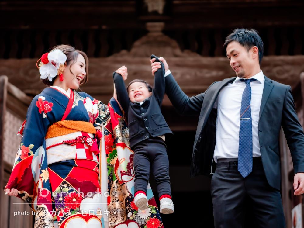 「とても満足しています」家族で祝う幸せいっぱいの成人式の撮影