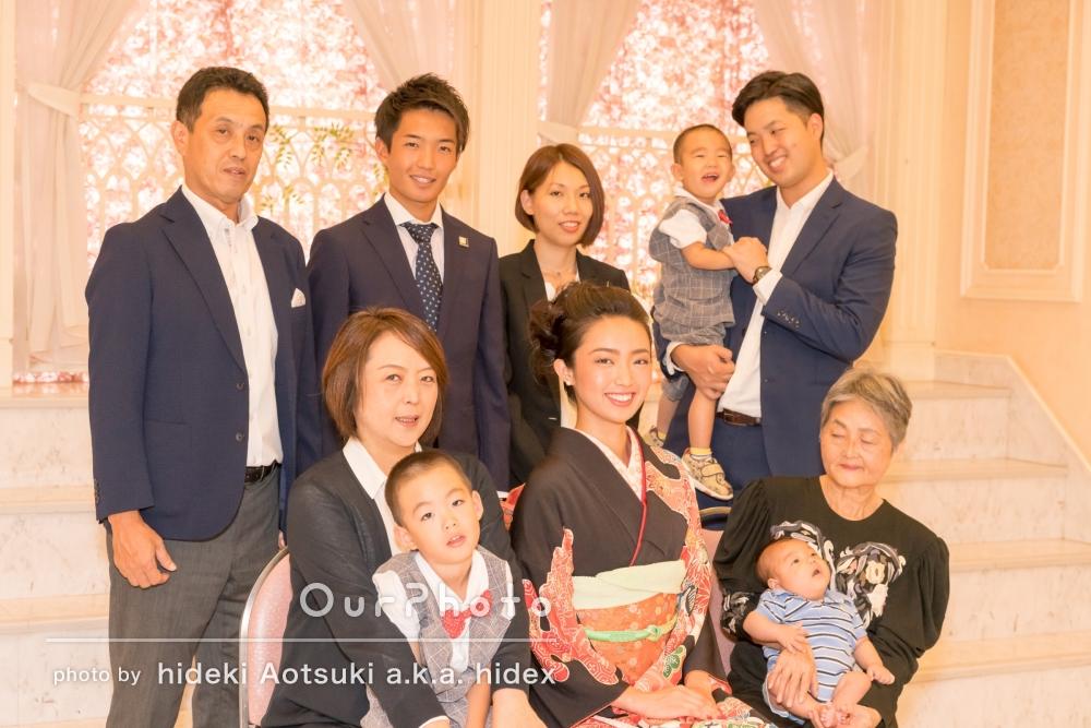 「大変良い写真を撮って頂きました。」家族大集合!家族写真の撮影