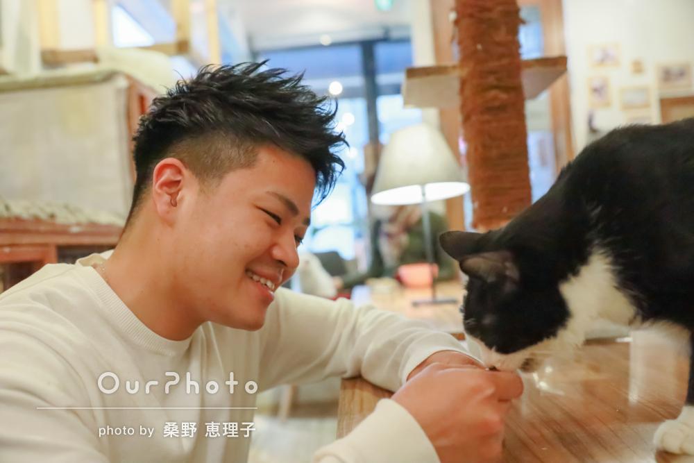 「安心して撮影に臨めました」猫ちゃんたちとプロフィール写真の撮影
