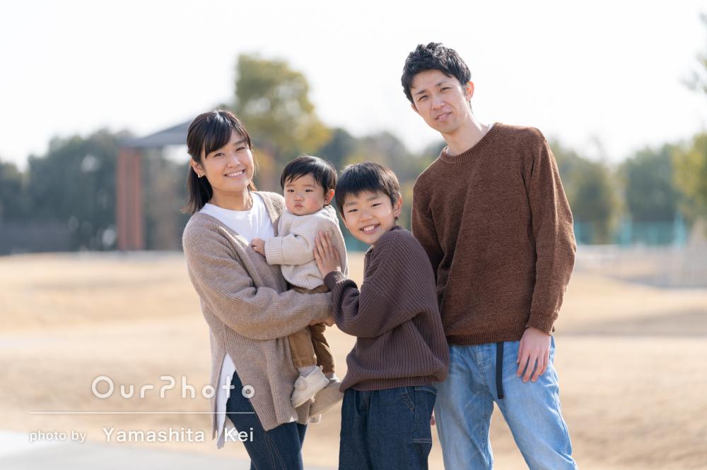 「雰囲気作りなどを工夫」大満足なハーフバースデイ記念に家族写真の撮影