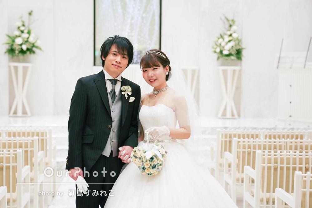 「本当に素敵なお時間、素敵な写真をありがとう」結婚式の撮影