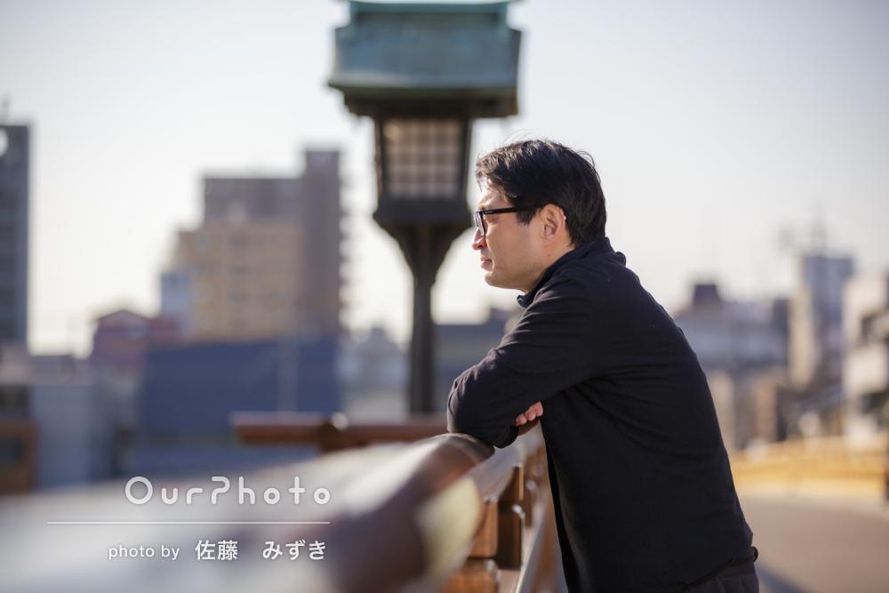 ビジネスからプライベートまで活用できる男性のプロフィール写真の撮影