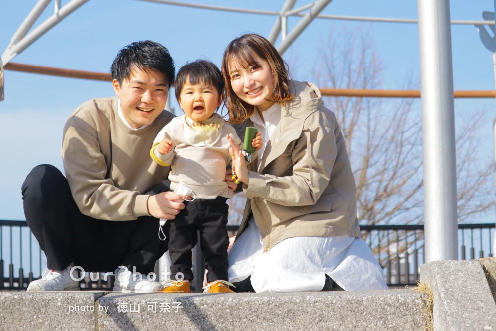 「色々プランを立てていただき素晴らしい」家族写真の撮影