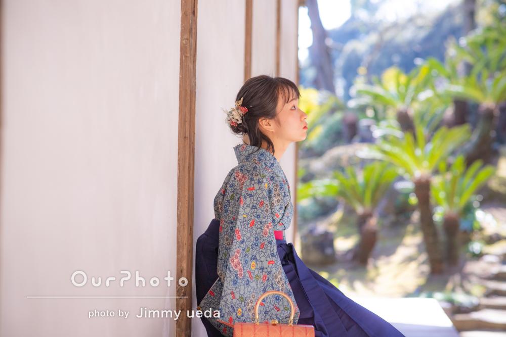 「撮影の雰囲気も楽しく、大変良い経験」袴姿で卒業記念写真の撮影