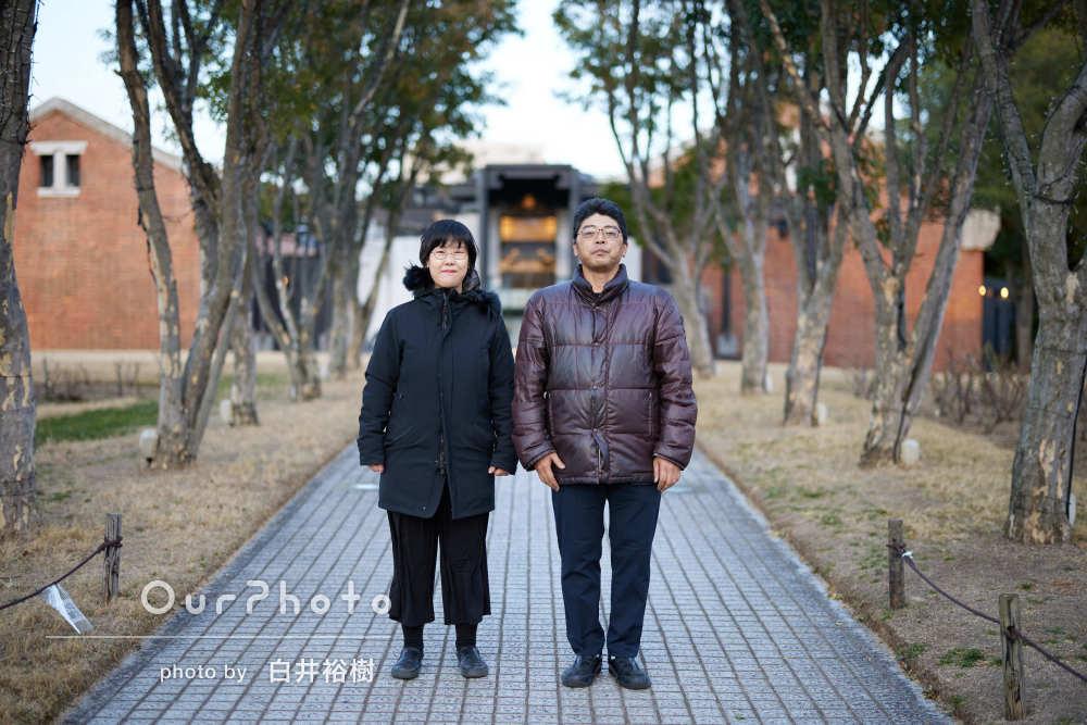 「とても自然な表情を撮って」結婚10周年の記念に家族写真の撮影