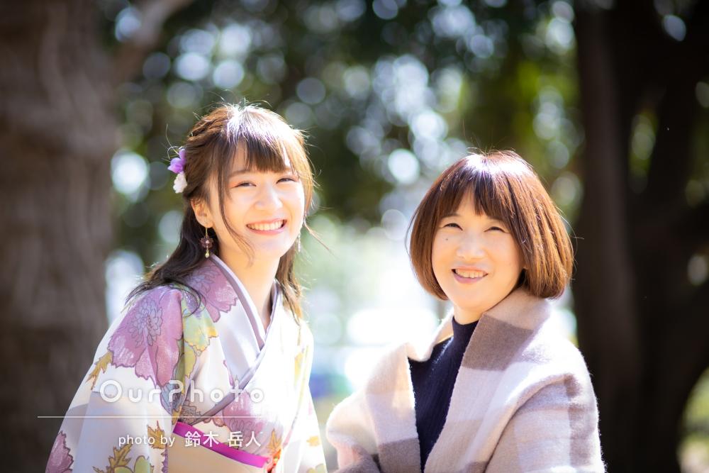 「本当に素敵な写真ばかりでした!」かわいい袴姿で卒業記念写真の撮影