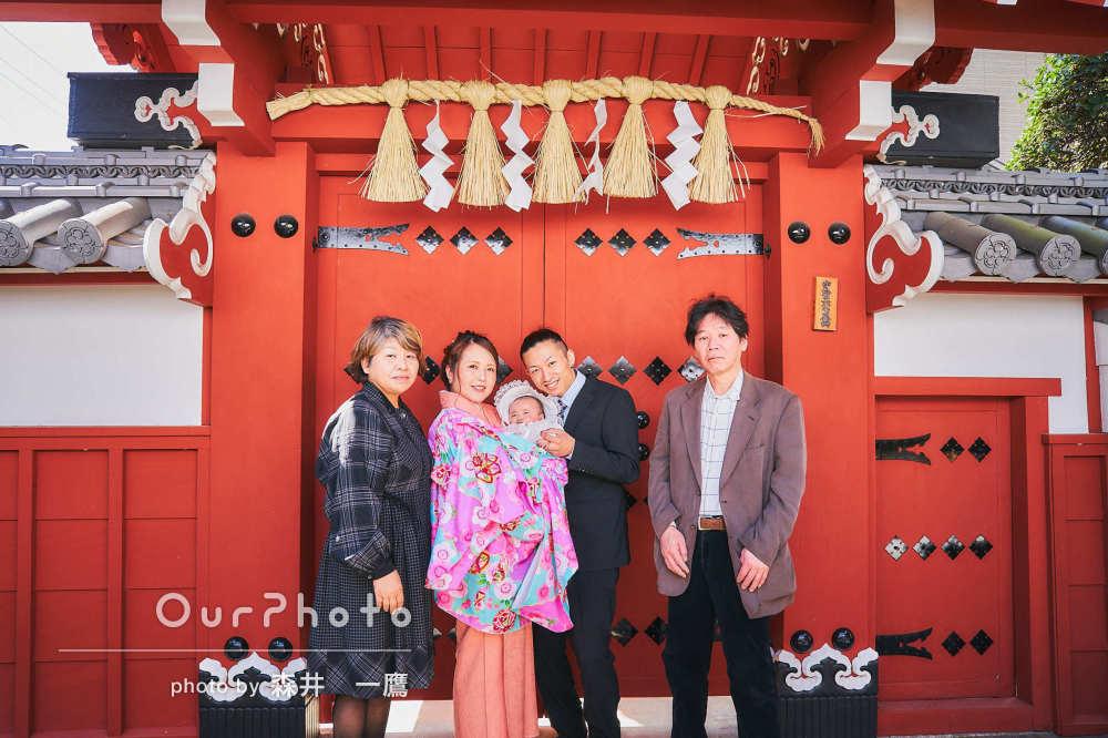 「様々なポーズを提案していただき、とても素敵な写真」百日参りの撮影