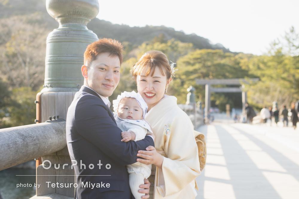 「家族の思い出が素晴らしい形で残せました」お宮参りの撮影