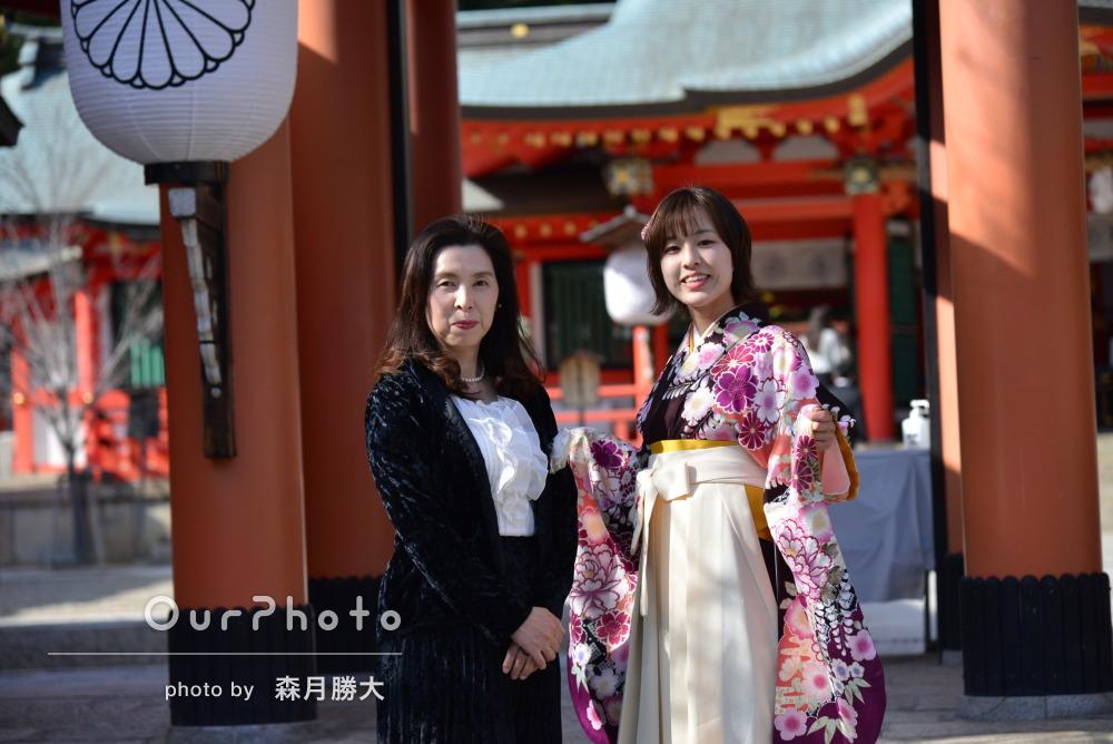 「どれも様になった写真ばかりでとても満足」袴姿で卒業記念写真の撮影