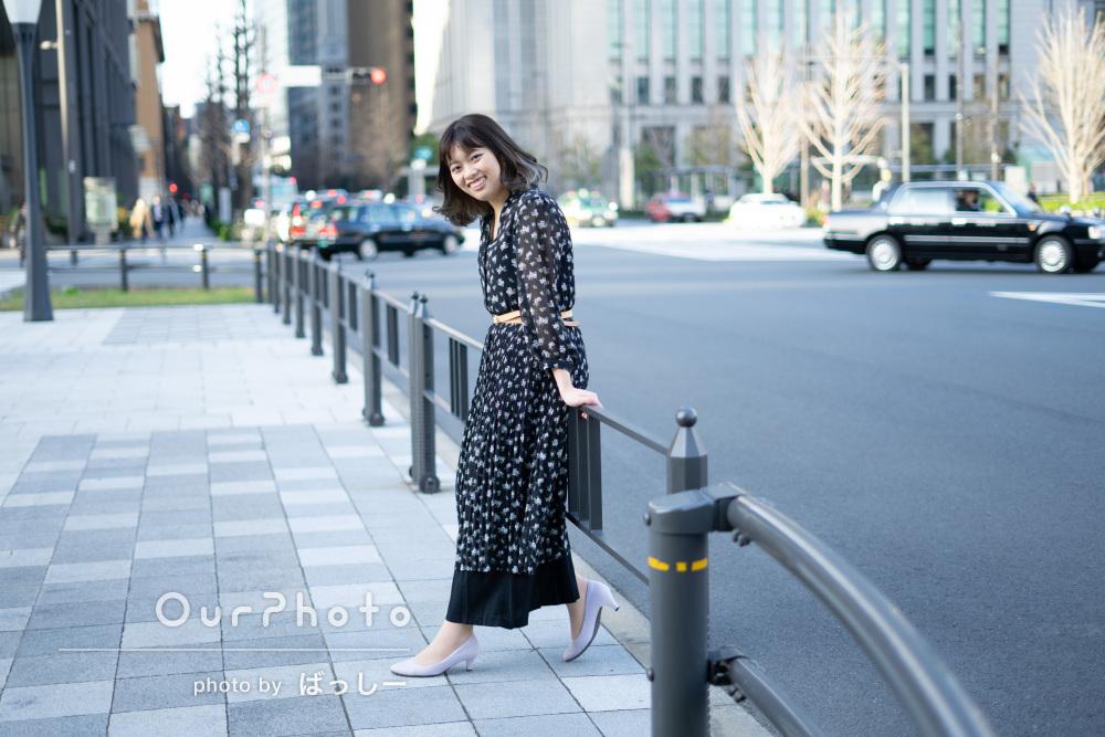「緊張しましたがとても親身になって」女性のプロフィール写真の撮影