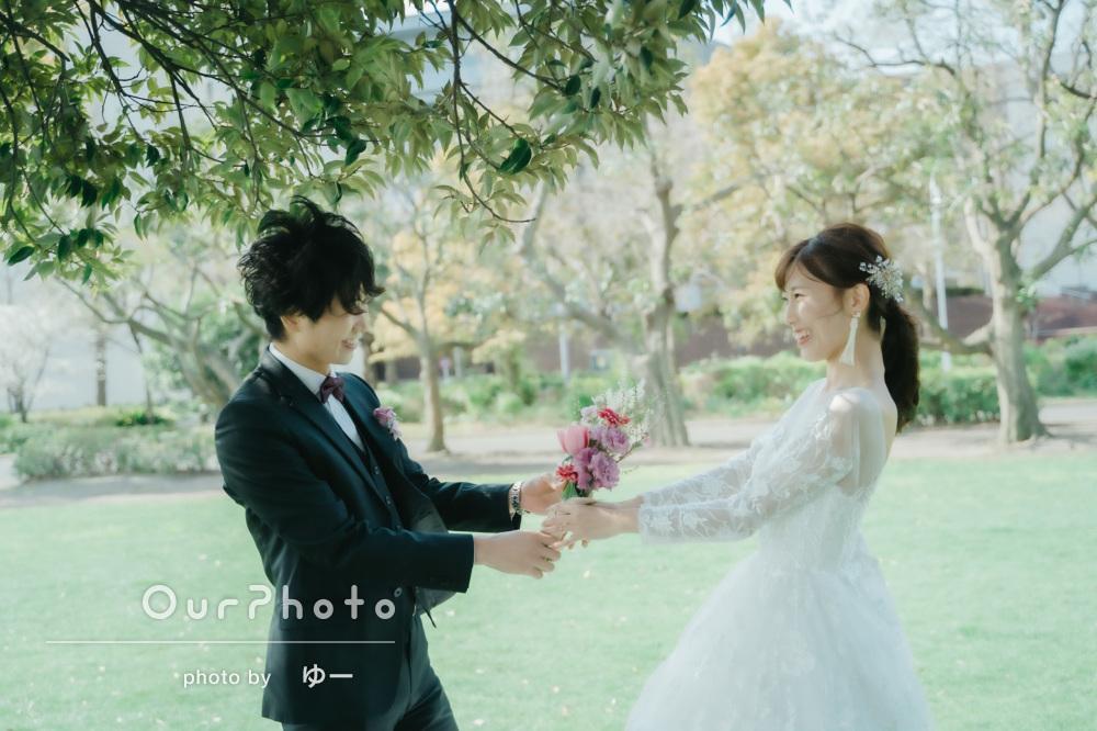 「結婚式で使いたい写真がありすぎて」大満足なウエディングの前撮り撮影