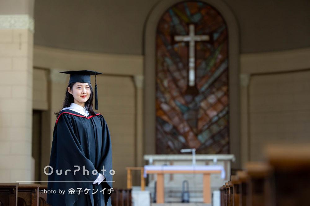 「想像以上の写真撮影会になりました」アカデミックガウンで卒業記念写真
