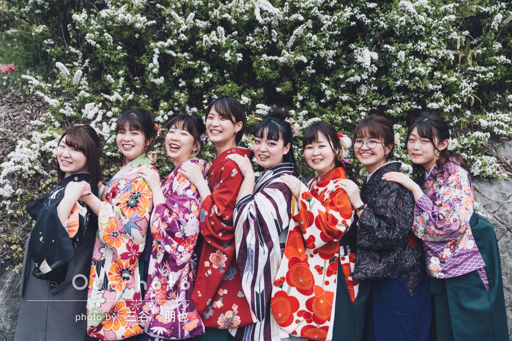 「イメージしていたもの以上に良い写真」卒業記念に袴姿で友フォトの撮影
