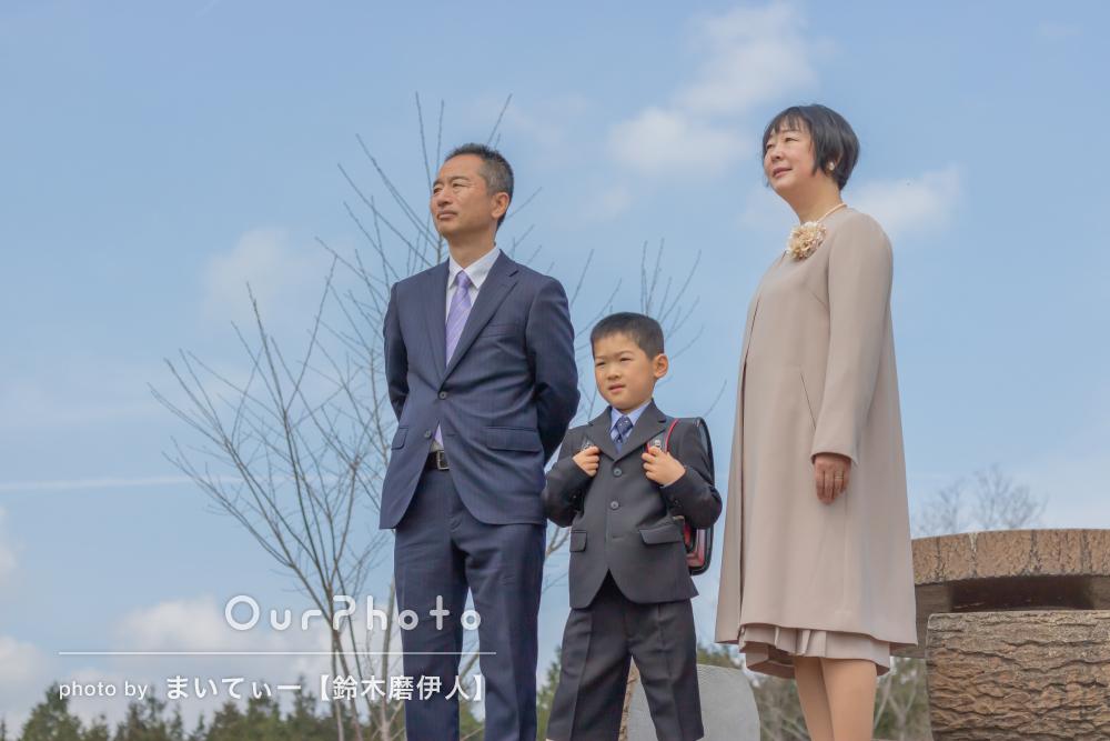 「ポーズとかの要望も快く引き受けてくださり嬉しかった」家族写真撮影