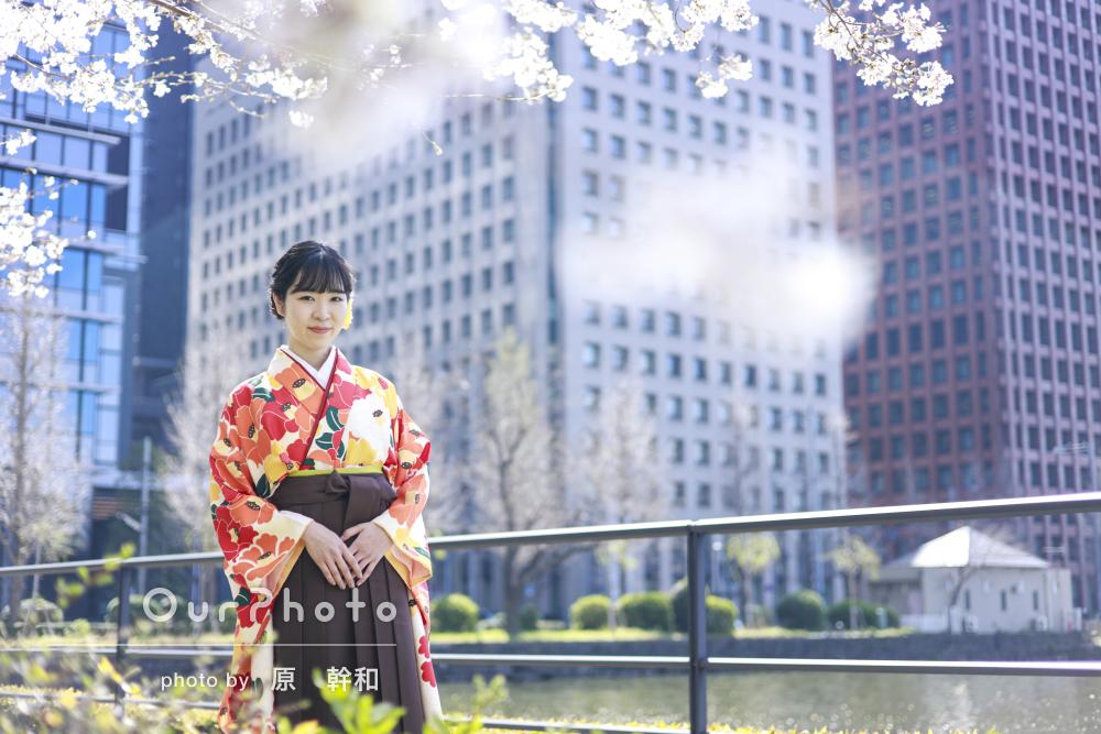 「想像以上に素敵な写真を沢山撮って頂けて」袴を着て卒業記念の撮影