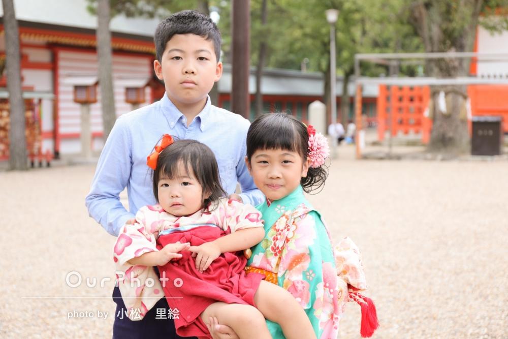「家族の素敵な記念になりました!」7歳と3歳姉妹の七五三撮影
