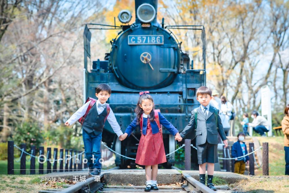 「素敵な写真ばかりでした」入学記念に仲良し三人組で友フォトの撮影