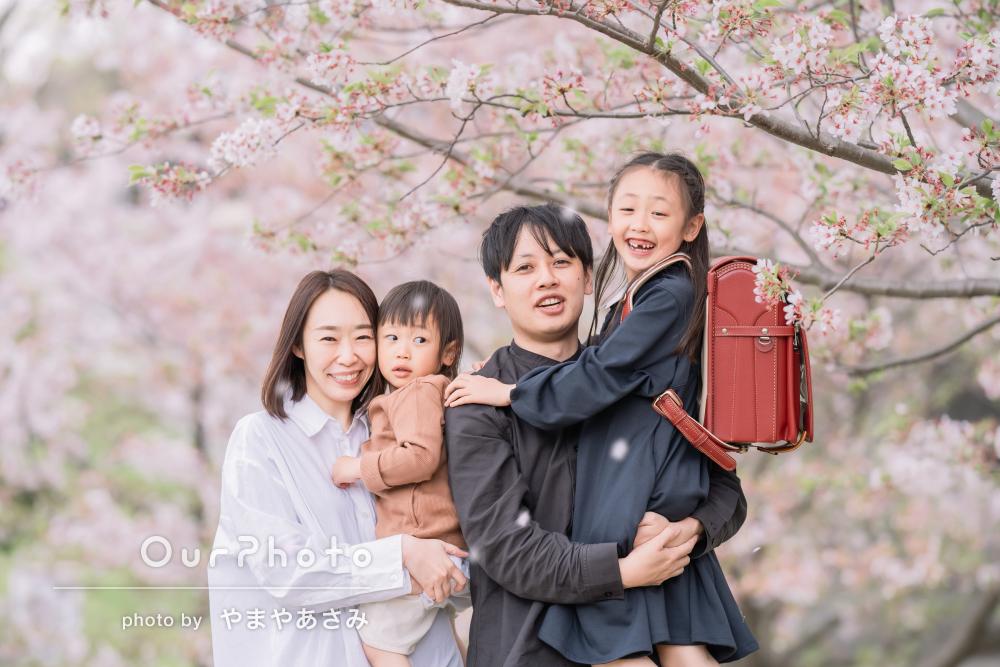 「撮影だけではなく、楽しい時間を共有させてもらった」家族写真の撮影
