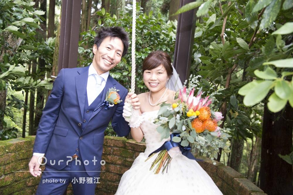 「希望通りの写真も撮って頂き大満足です!」結婚式の撮影