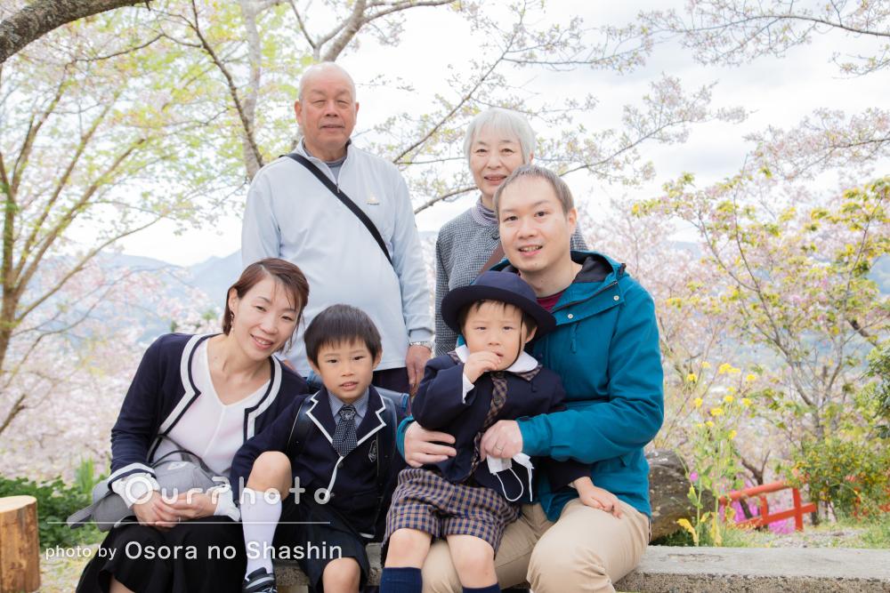 「自然な形で素敵な写真を撮っていただけて大満足です」家族フォトの撮影