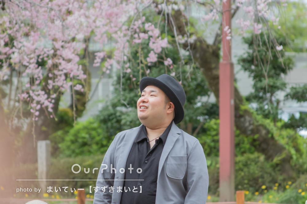 「自然な笑顔で撮影して頂けました!」男性プロフィールフォトの撮影
