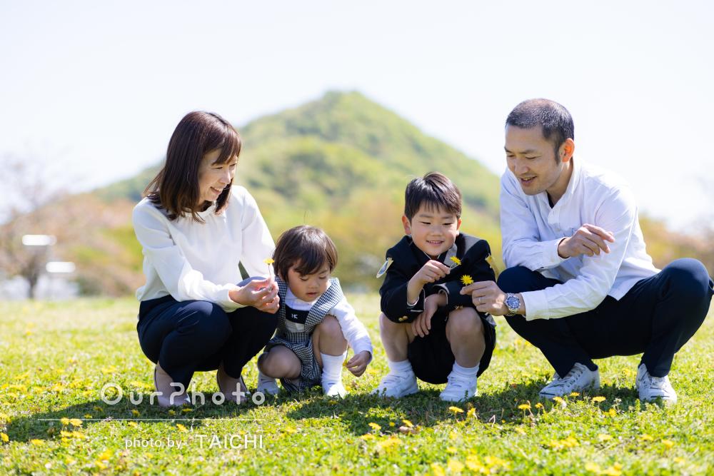 「家族写真も撮れていなかったので良い記念になりました」家族フォト撮影