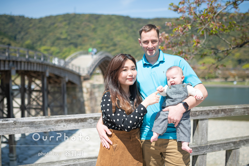 「イメージ、全て叶えてくださり、主人もとても満足」家族写真の撮影