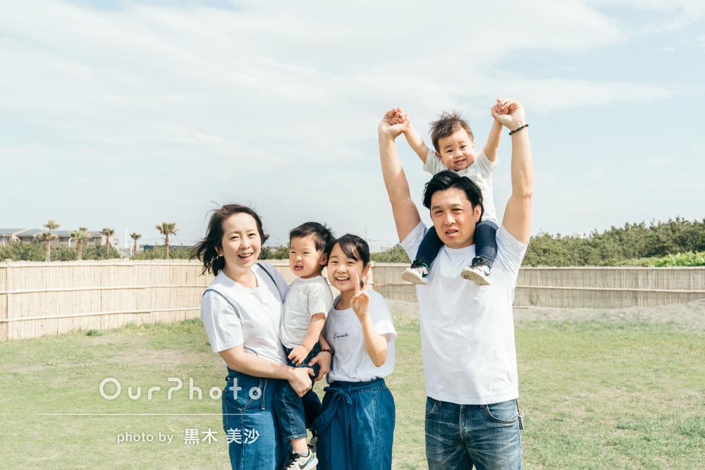 「写真も家族が全員大満足で早く現像して飾りたい!」家族写真の撮影