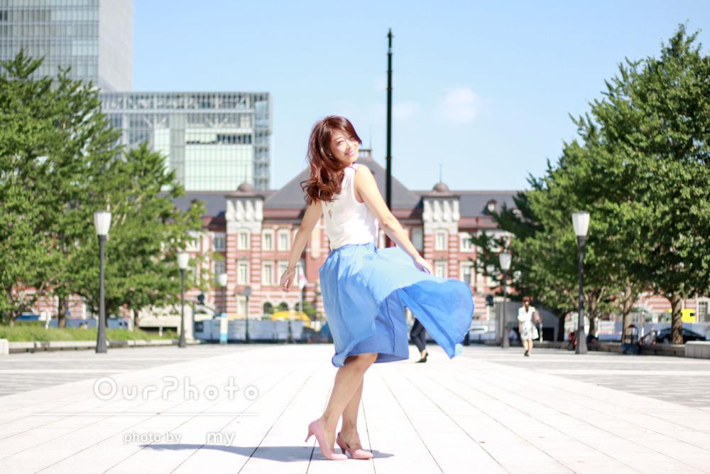 インスタグラマー @kozuekawabe さん のポートレート撮影