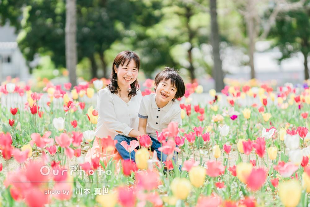 「それぞれのシーンで素敵な写真がたくさん」笑顔あふれる家族写真の撮影