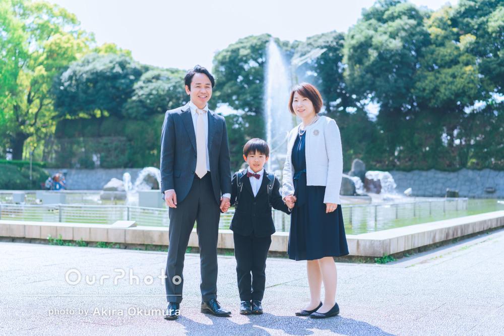 「すぐにリラックスした雰囲気になりいい表情で撮影でき」家族写真の撮影