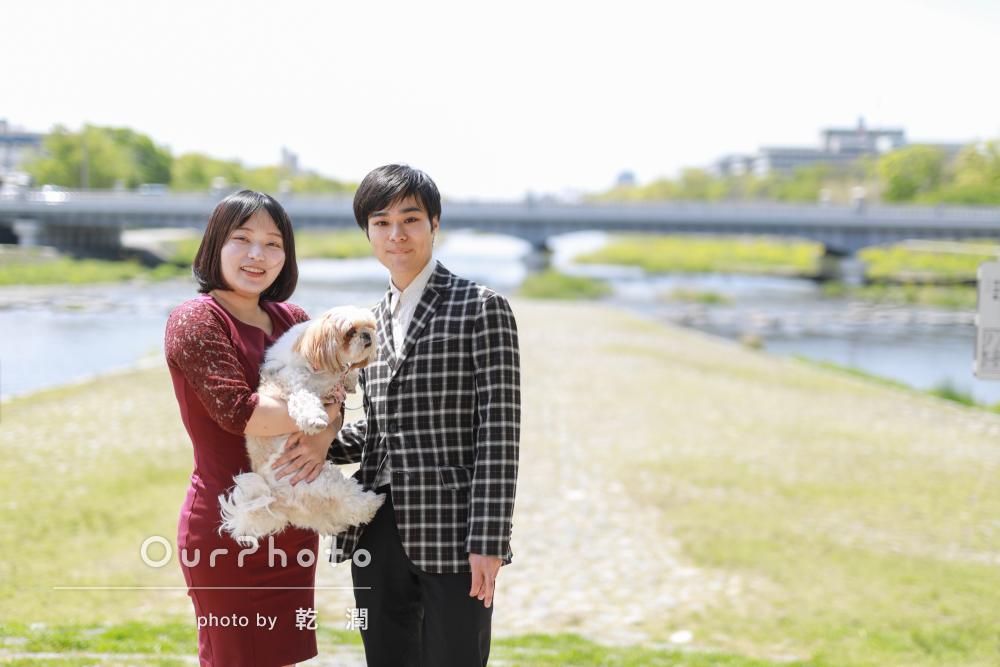 「とても安心でした」犬とカップルそれぞれのプロフィール写真の撮影