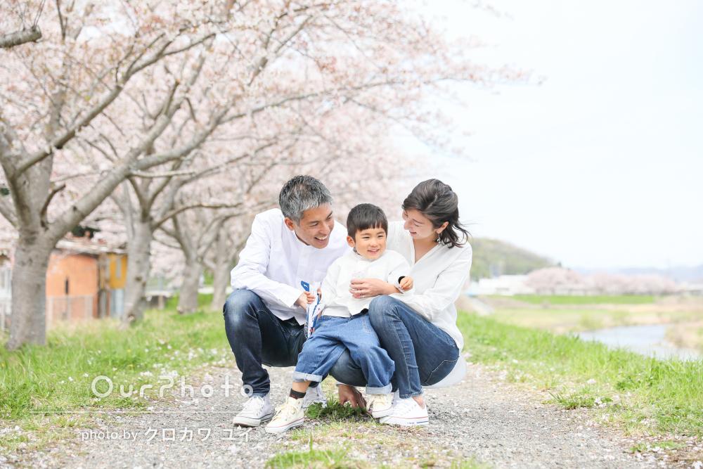 「温もりあふれるステキな瞬間をたくさん」リピーター様の家族写真撮影