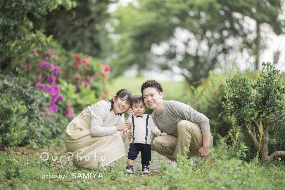 「良い表情の写真をたくさん撮っていただけて嬉しかった」家族写真の撮影