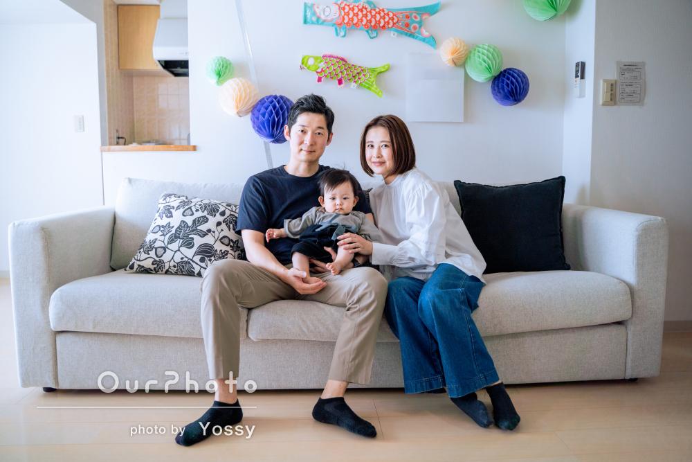「素敵な写真ばかりで、本当にお願いしてよかったです」家族写真の撮影