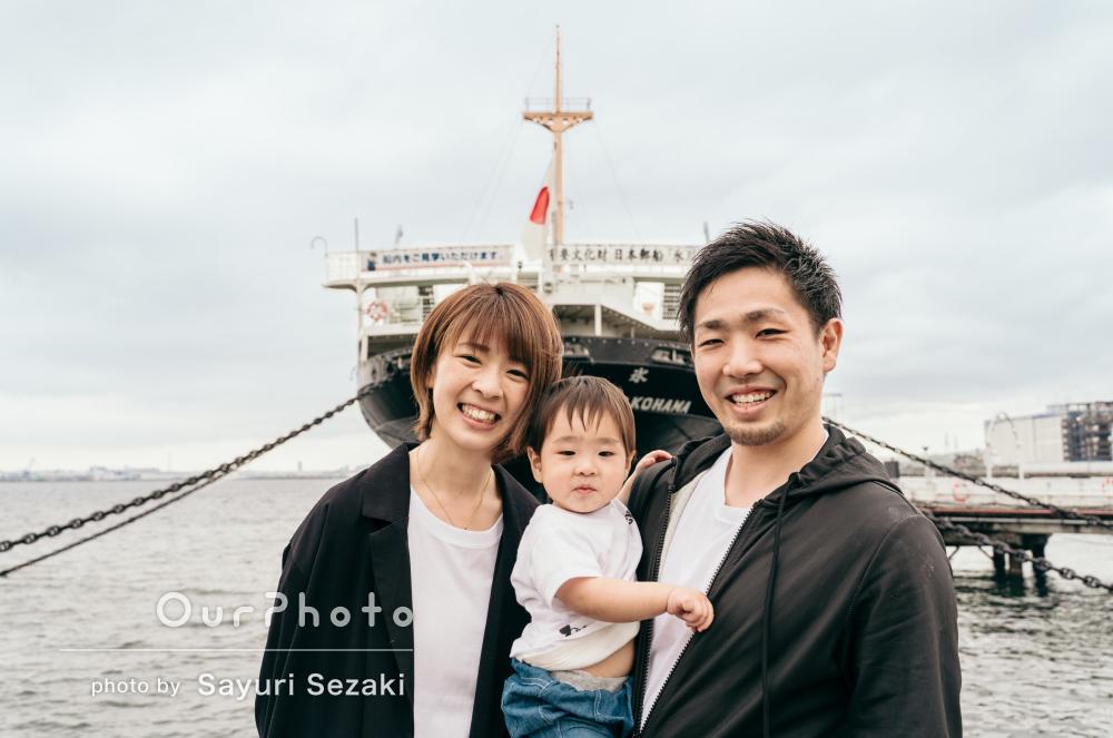 「とってもキレイな写真に出来上がっていました」家族写真の撮影