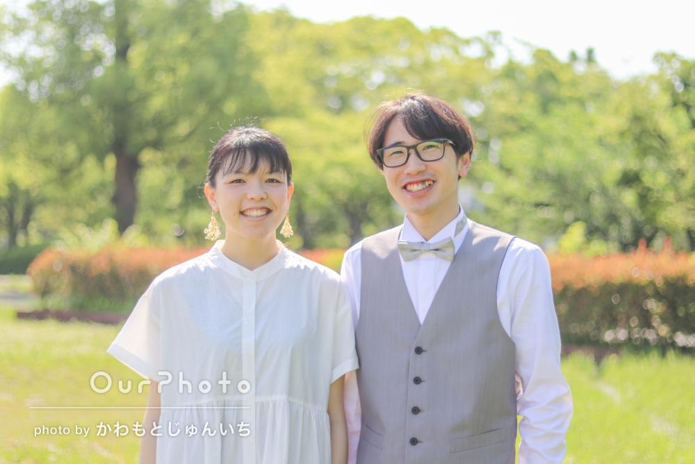 「イメージ通りの写真ばかりです!」幸せいっぱいなカップルフォトの撮影