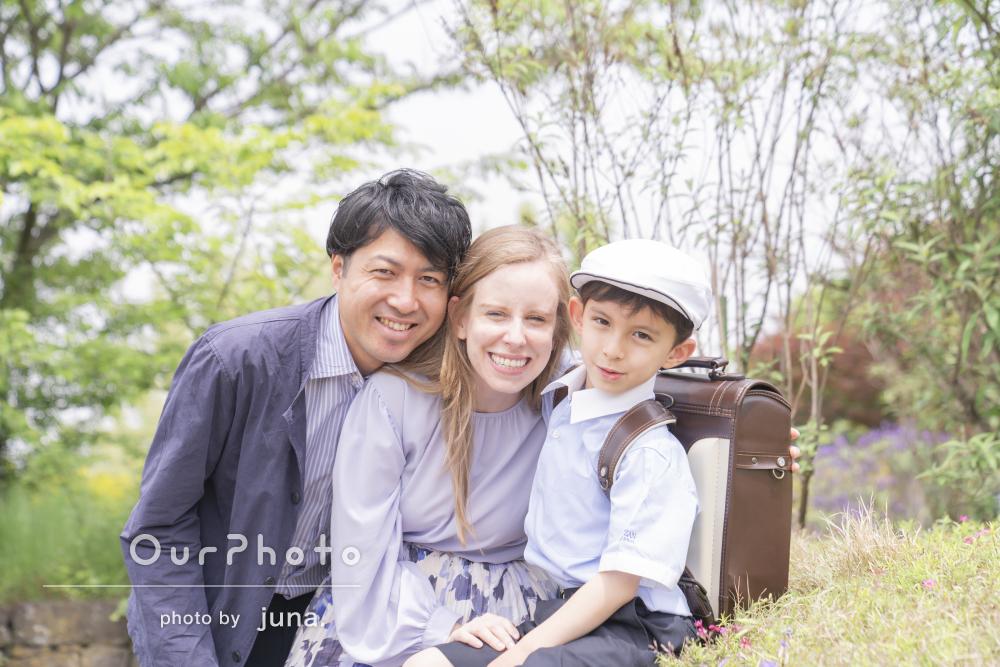 「期待より綺麗に出来上がりました」優しい笑顔で家族写真の撮影