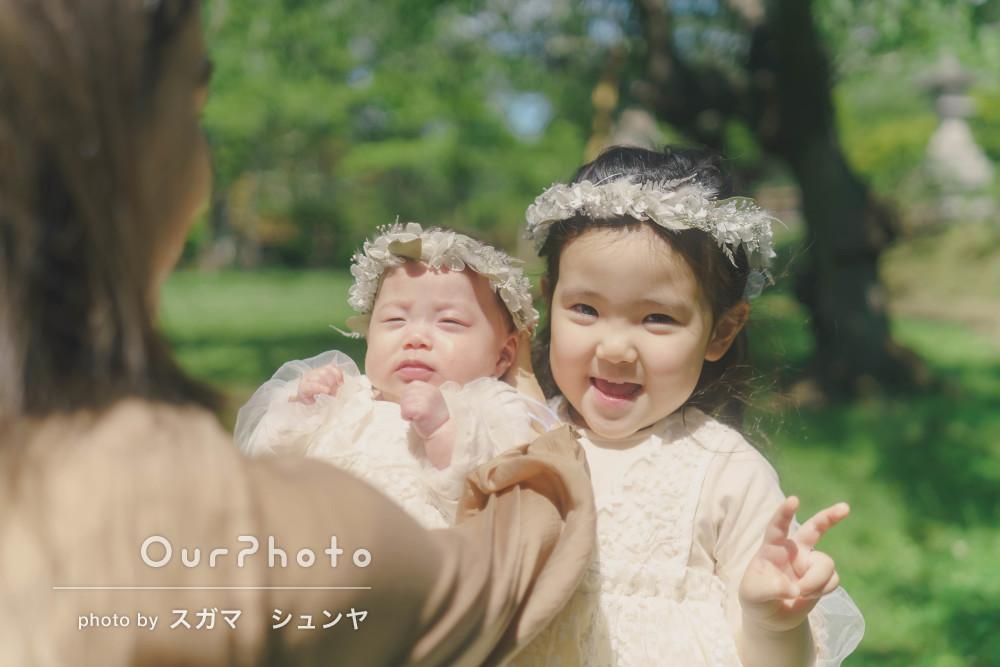 「子どもが最後はすごく寂しがっていました」楽しそうな家族写真の撮影