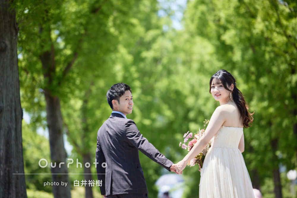 「とても素敵な写真で満足」まるで外国のようなカップルフォトの撮影