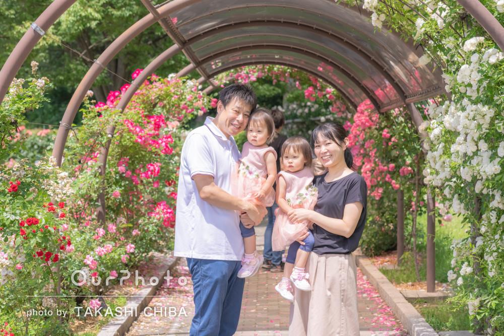 「アイディアや構図を提案して頂き」2歳の誕生日記念に家族写真の撮影