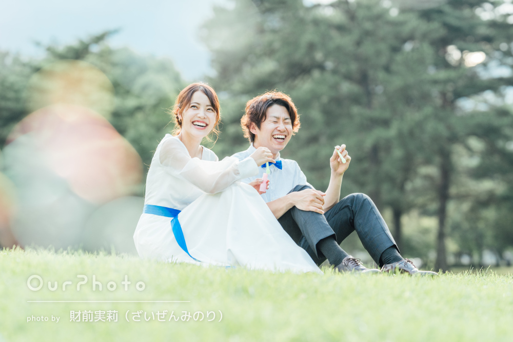 「楽しくて時間があっという間に」幸せあふれるカップルフォトの撮影