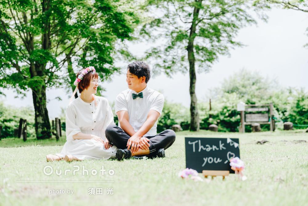 「結婚式でどれを使おうか悩むほどです」カップルフォトの撮影