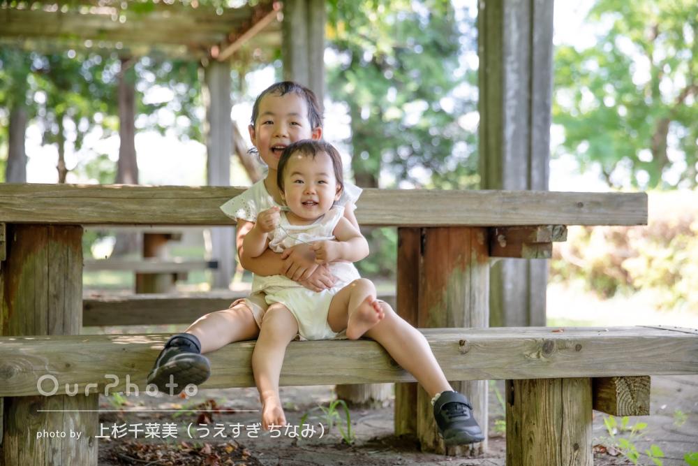 「何気ない場所が素敵な一枚となり、とても嬉しいです」家族写真の撮影
